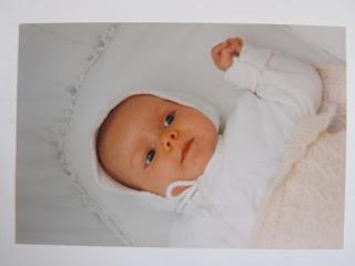 Lucia Clara als Baby